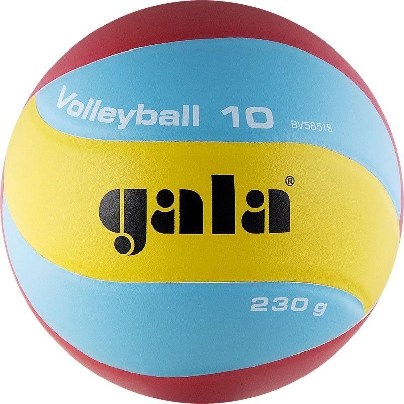 Мяч волейбольный gala кожа