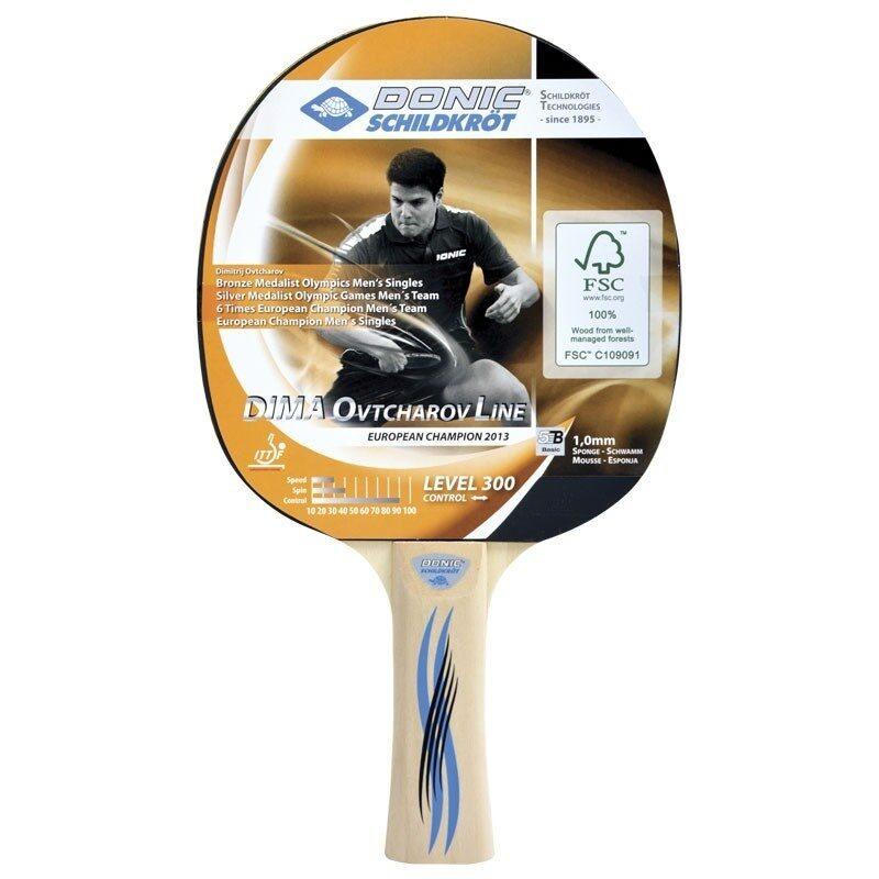 Ракетка для настольного тенниса Donic Schidkroet Ovtcharov 300 FSC ... ca833ed0e422c