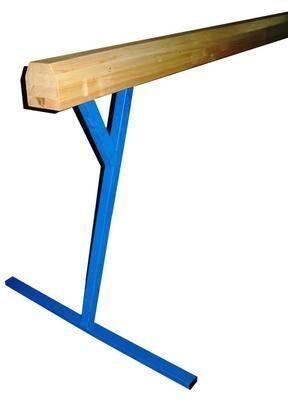 Бревно гимнастическое, высокое, не регулируемое - 3,0 м