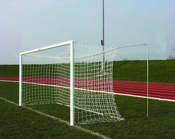 Футбольные ворота 7,32х2,44м, разборные со стаканами, труба d=89мм